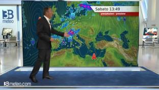 Temporali anche forti al Nord e Toscana; sole prevalente e molto caldo altrove...