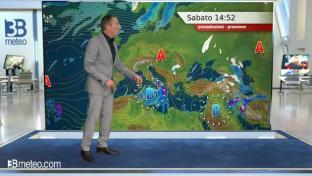 Maltempo al Sud con piogge, temporali e calo termico. Venti forti di Grecale...