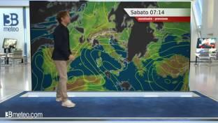 Instabile al Sud, migliora al Centro-Nord; venti da nord e calo termico...