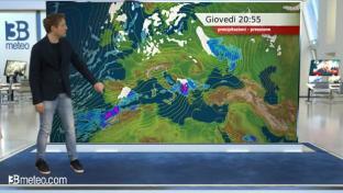 Migliora al Nord, molte nubi e piogge in Sardegna e al Centro-Sud...