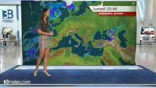 Bel tempo prevalente, locale variabilità diurna su Appennino e su estremo Sud...