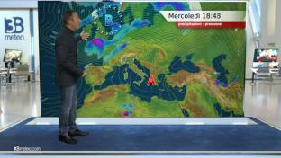 Nubi in aumento al Nord e su alta Toscana con prime piogge; soleggiato al Sud...