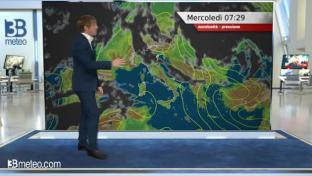 Nubi tra Liguria e alta Toscana, piogge sulla Calabria tirrenica. Buono altrove...