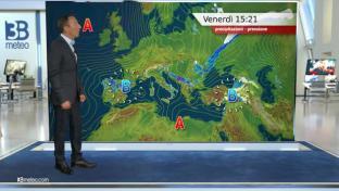 Sole prevalente e clima mite, annuvolamenti al sud con isolati spunti piovosi...
