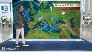 Bello al Nord ma con qualche nebbia, ancora instabile al Sud e lungo l'Adriatico...