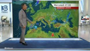 Piogge e temporali in Sardegna, piovaschi in Sicilia, più soleggiato altrove...