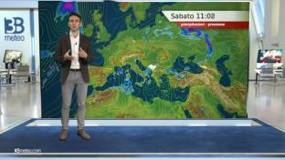 Variabilità diffusa con piovaschi al Sud e rovesci in Sardegna. Più sole altro...