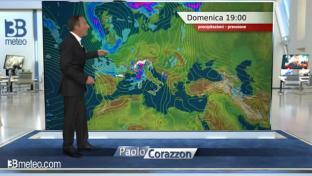Generale variabilità con tendenza al peggioramento sul Nord, Toscana e Sardegna...