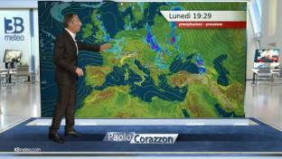 Ancora instabilità su Triveneto e Prealpi, al mattino anche tra Toscana e Umbri...