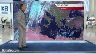Tempo in peggioramento al Centrosud: tornano le piogge a partire dal Tirreno...
