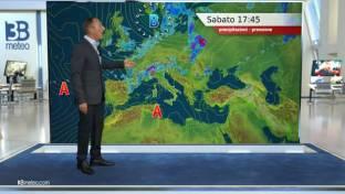 Instabile al Nord con temporali anche intensi. Soleggiato e caldo al Centro-Sud...