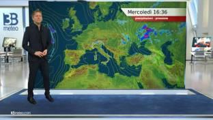 In prevalenza soleggiato salvo qualche temporale diurno su Alpi e nord Appennino...