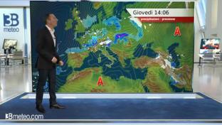 Molte nubi e qualche pioggia al Nord e sul medio-alto Tirreno, meglio altrove...