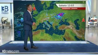 Insiste della nuvolosità su Toscana, Appennino e al Sud con locali piogge...