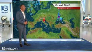Bel tempo e clima mite su tutto il Paese, qualche temporale su interne sicule ...