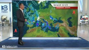 Piogge sulle aree tirreniche meridionali; dal pomeriggio peggiora anche al Nord...