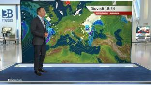 Breve tregua salvo residue piogge al Sud e sul Nordest, tempo ancora non freddo....