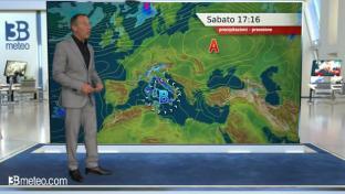 Temporali anche forti sulle Isole, note instabili su Alpi, Appennino e al Sud...