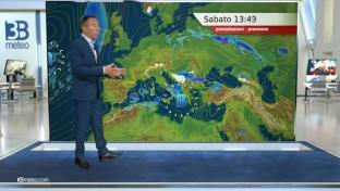 Variabilità diffusa con piovaschi al Sud, centro-sud Appennino e Sardegna....