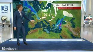 Bel tempo con estese gelate, specie al centro-nord; qualche pioggia al Sud...