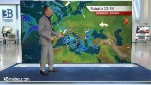 Instabile al Centro-Sud e sulle Isole con piogge e temporali; migliora al Nord...