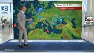 Bel tempo e caldo protagonisti, locali temporali diurni sulle Alpi ed Appennino...
