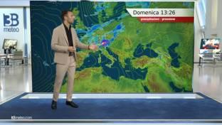 Rovesci e temporali anche intensi sul Nord e Toscana. Soleggiato e caldo al Sud...