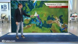 Migliora al Nordovest; maltempo sul resto d'Italia con neve su Alpi e Appennino...