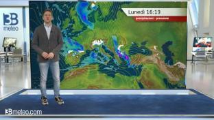 Ancora freddo e instabile sull'Italia, specie tra Liguria e regioni tirreniche...