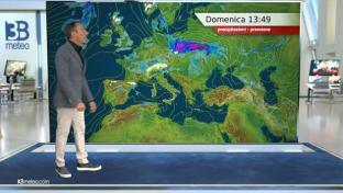 Qualche rovescio o temporale al Nord, residuo sul medio Tirreno, meglio altrove...