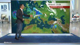 Nubi e precipitazioni su Alpi di confine, Toscana e Lazio. Meglio altrove...