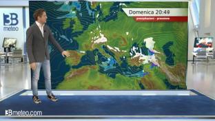 Variabilità generale, qualche pioggia sparsa al Centrosud e Isole. Freddo...