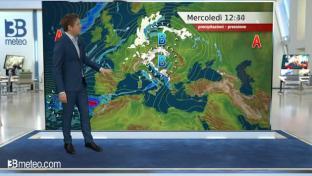 Ancora instabilità al Nord e sulle Tirreniche, nevicate a quote collinari....