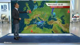 Nuovamente instabile fra medio Adriatico, Appennino e Sud. Soleggiato sul Nord...