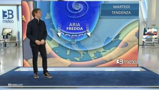 Perturbazione fredda in transito: neve a bassa quota su Nord-Est e Adriatiche...