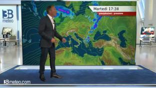 Nuova rimonta dell'alta pressione sull'Italia; residua instabilità al Centros...