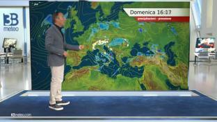 Variabilità instabile al Centro-Sud e Isole con rovesci specie nel pomeriggio...