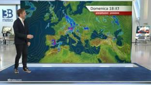Condizioni spiccatamente instabili al Centro Nord con temporali e calo termico...