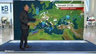 Tempo variabile con instabilità pomeridiana e qualche pioggia, specie al Sud ...