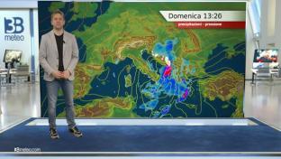 Instabile sul medio-basso Adriatico e al Sud. Più stabile e soleggiato altrove....