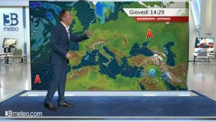 Nuvolosità in Valpadana e al Centro, qualche pioggia in Liguria. Sole altrove...