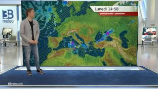 Piogge e temporali al Sud, molto forti su Calabria e Sicilia. Meglio al Nord...