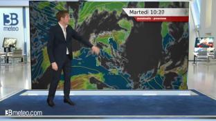 Maggiore nuvolosità insiste al Nord e sulla Toscana, ampie schiarite altrove...