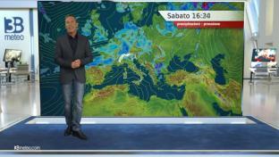 Residua instabilità al Sud. Ancora piovaschi sparsi al Nord, specie al Nordest...