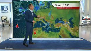 Instabile su adriatiche, Appennino e Sud Italia, con rovesci e locali temporali...
