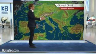 Anticiclone africano sul Paese e caldo intenso; temporali di calore sulle Alpi...