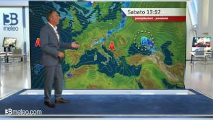 Condizioni assolate ovunque con massime in aumento; variabilità in Sicilia...