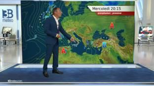 Nubi al Nordovest; instabilità diurna su Alpi occidentali e interne Centro-Sud...