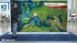 Condizioni di diffuso maltempo al Centronord. Neve copiosa su Alpi e Appennino...