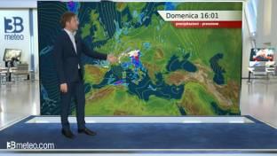 Perturbato su Lombardia, Triveneto e Centro con calo termico; meglio altrove...